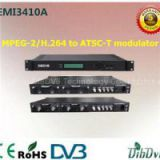4 Channels MPEG-2 /H.264 HD Encoder Modulator