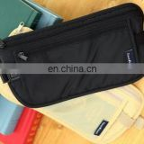 New Stealth anti-theft wallet Folding travel nylon storage bag Mini Close-fitting pocket