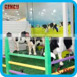 amusement park animatronic cow