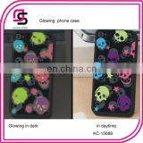 glowing phone case halloween phone cover skull phone cell