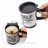 Self Stirring Coffee Mug - Self Stirring, Electric Stainless Steel Automatic Self Mixing Cup and Mug