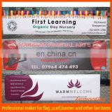 cheap promotional hanging roll up banner