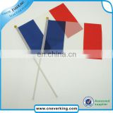 Custom wholessale red white blue flag