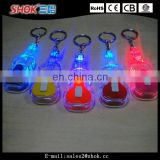 Best selling item souvenir led flashlights guitar key chain