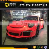 3 China Top Quality Car Bodykit Front Bumper and Spoiler for GT3 991 2012-15