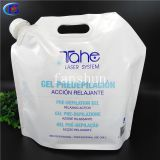 5L Resealable composite plastic Doypack Bags for Soybean oil and Corn oil