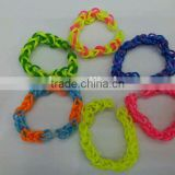 Rubber bands & Loom bands & Rubber loom bands, silicone DIY band loom kit for rubber band bracelet