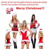 2015 HOT SALE Factory high quality sexy women Christmas decoration gift Christmas lingerie Sexy Christmas costume