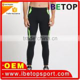 2016 new design Compression tights spandex long pants for Running clothing custom design Top quality mens Running tights