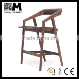 high quality wooden dining armchair Katakana bar chair MKW70B