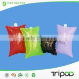 Tripod Air cushion packaging bag for transporation.