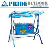 Outdoor Cartoon Lovely Courtyard Terrace Garden Safety Hanging Kid's Patio Baby Swing Chair