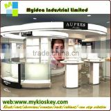 Modern new arrival shopping mall nail bar kiosk for manicure