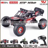 2.4G 4WD Electric Powerful RC Rock Crawler Professional Brushed / Brushless Racing RC Car 45-75km/h                                                                         Quality Choice