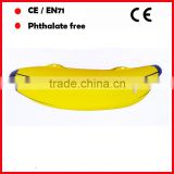 yellow color PVC inflatable banana with logo printing for advertising