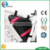 2016 wholesale bicycle tool bag,mount bicycle Triangle Front Pannier Frame Tube tool pouch