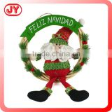 Hot selling new style hanging christmas decorated felt xmas stocking decoration for sale