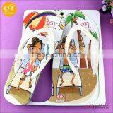 Chinese suppliers latest design new model girls fashion eva slippers
