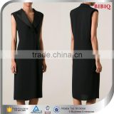 knee length cocktail dresses black elegant v neck career professional dresses cheap career dresses