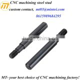 custom CNC machining steel stud bolt