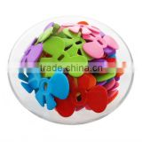 Factory Price High quality Hot Selling opaque acrylic butterfly bead