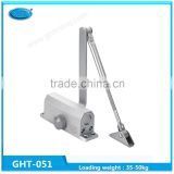 High quality aluminium automatic hydraulic door closers type for 45-60kg door closer