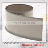 4inch adhesive line added flexible soft plastic pvc wall baseboard