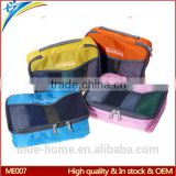 Hot new design portable zipper tote trip clothing storage bags Large size foldable net pouch