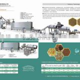 Fish feed processing machines