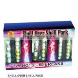 Fireworks artillery shells assorted/crackling/silver /fireworks factory/chinese fireworks/new fireworks