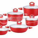 Hot 12 pcs Nonstick cookware set