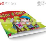 Premium color and craft activity book for kids from India