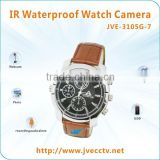 JVE-3105G-7 Wireless Waterproof watch camera 1080P, IR night vision camera watch hidden camera