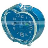 Mini alarm clock, cute apple shape clock, desk clock