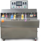 cocktail juice with plastic inflatable bag filling machine packaging macine for juice