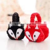 Best selling design lovely animal squirrel winter earmuff for kids