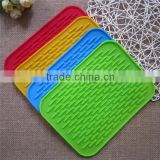 Eco-friendly Heating Silicone Placemats Multi Use Pad                                                                         Quality Choice