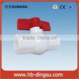 Customize /OEM SCH40 plastic PVC Ball Valve with socket or thread end