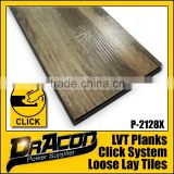 Wood Texture PVC Click Vinyl Plank Flooring                                                                         Quality Choice