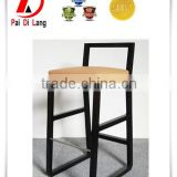 High quality fabric high back bar stool