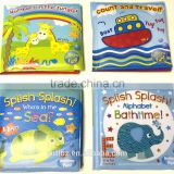 New Baby Bath Book Plastic Coated Fun Educational Toy Book For Children                                                                         Quality Choice