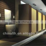 Widely Used Bathroom Public Toilet Partition With Laminate Hpl From China