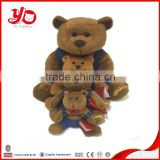 2015 wholesale custom plush toy, china plush toy animals, teddy bear family