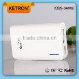 8400mah dual usb accessory battery charger speaker power bank