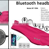 Fashion Outdoor Wireless Bluetooth Knit Sport Headband Music Headgear Eye Patch Music Eye Wear Eye Mask Blinder Hands-free Phone