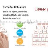Nice design bluetooth laser virtual keyboard