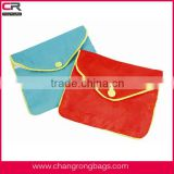 Eco-friendly fabric Pouches with Zipper, Extra Large Jewelry pouch                                                                         Quality Choice