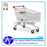 Russia market used supermarket cart trolley
