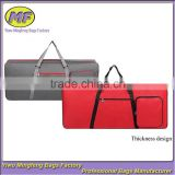 Custom High Quality Tote and Shoulder Thickening 61 Keys Musical Instrument Electronic Organ Bag with Pulleys
