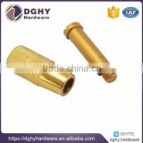 High precision CNC Machining Brass/Copper/Bronze/cnc turning precise brass steel parts factory